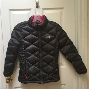 The North Face Girls 550 Down Jacket size 14/16